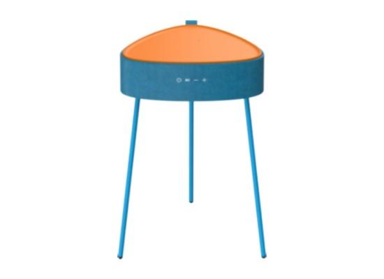 Wansa Bluetooth Table Speaker Wireless Charging - Blue