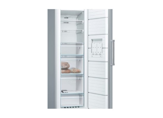 Bosch 9 Cft. Upright Freezer (GSN36VL3PG) – Stainless Steel