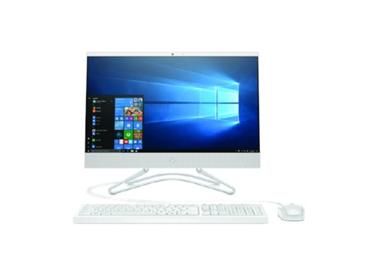 HP i3 Intel UHD 630 Ram 4GB HDD 1TB 21.5-inch All-in-One PC - White