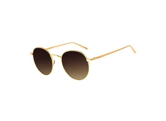 Chilli Beans Round Gold Sunglasses - OCMT2590