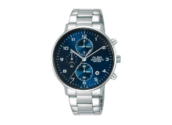 Alba 40mm Chronograph Gents Metal Casual Watch (AM3685X1)
