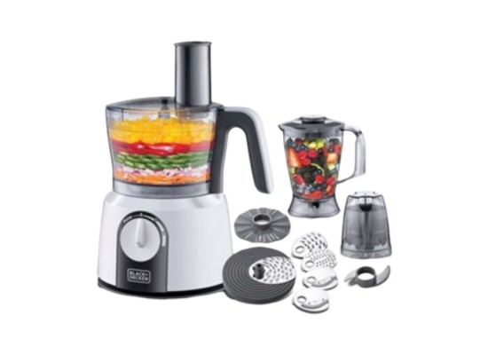 Black & Decker 5-in-1 1000W 1.5L Food Processor Price in Kuwait | Buy Online – Xcite