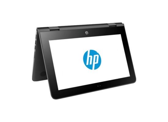 HP Intel Celeron 4GB RAM 500GB HDD 11.6-inch Convertible Laptop (11-AB100NE) - Jet Black