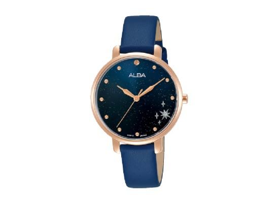 Alba 32mm Analog Ladies Leather Fashion Watch (AH8698X1)