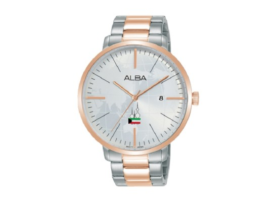 Alba 42mm Analog Unisex Metal Fashion Watch (AS9K64X1)
