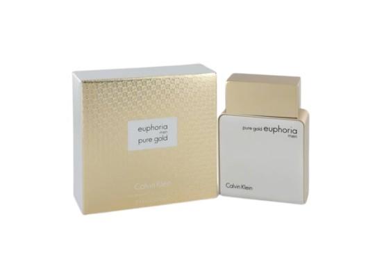 Euphoria Pure Gold by Calvin Klein for Men 100 ML. Eau de Parfum Price in Kuwait   Buy Online – Xcite