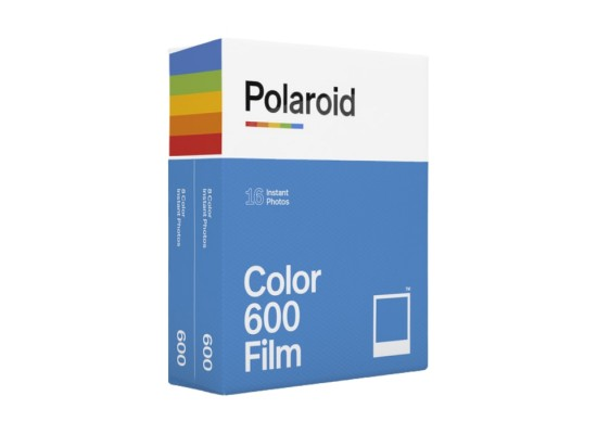 Polaroid Color 600 Instant Film (Double Pack, 16 Exposures)