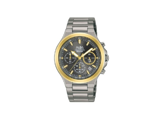Alba 40mm Chronograph Gents Metal Casual Watch - AT3G64X1