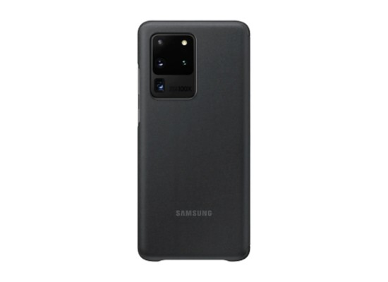 Samsung Galaxy S20 Ultra Smart Clear View Black Cover Price in Kuwait | Buy Online – Xcite