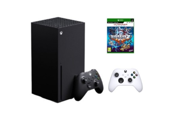 Xbox Series X 1TB Console Bundle with controller and Override 2 Game in Kuwait | Buy Online – Xcite
