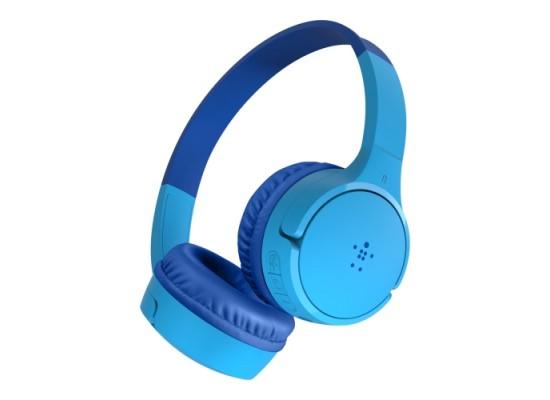 Belkin SoundForm Mini Wireless On-Ear Blue Kids Headphones in Kuwait | Buy Online – Xcite