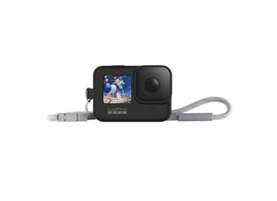 GoPro Hero9 Camera Sleeve & Lanyard Black in Kuwait | Buy Online – Xcite