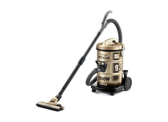 Hitachi 2200W 21L Drum Vacuum Cleaner (CV-970Y) – Gold