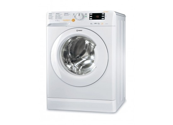 Indesit Front Load 5kg Drying and 7kg Washing Machine - White XWDE 751480XW UK