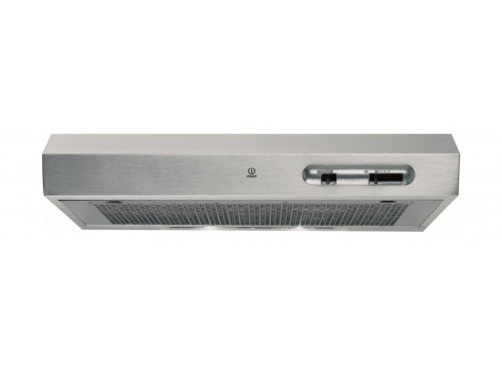 Indesit 60cm Cooker Hood (ISLK 66 AS X)