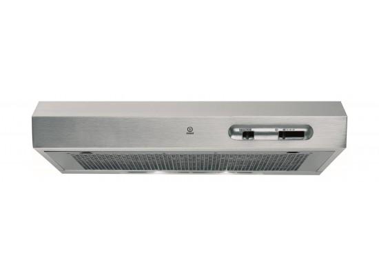 Indesit 60x60cm 4-Burner Free Standing Gas Cooker + Cooker Hood