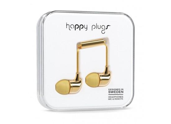 Happy Plugs In Ear Earphone – Gold