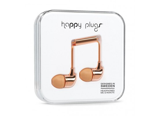 Happy Plugs In Ear Earphone – Rose
