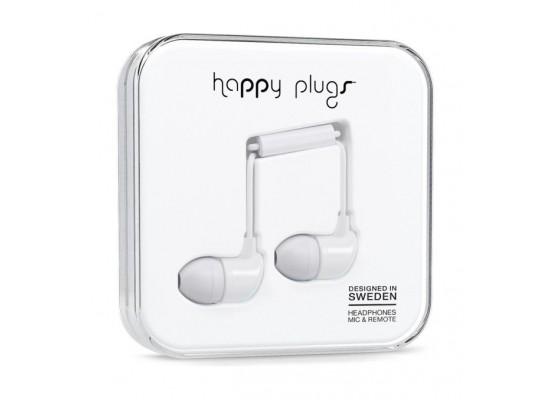 Happy Plugs In Ear Earphone – White