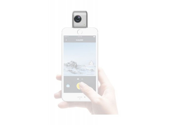 Insta360 Nano 3k 360° Dual Lens Camera For iPhone
