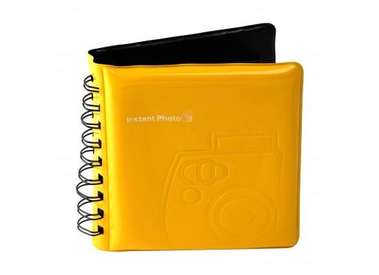 Fuji Instax Mini 8 Photo Album Yellow Xcite Alghanim Electronics