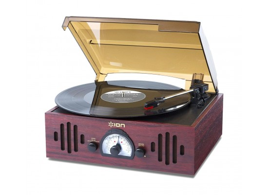ION Audio Trio LP Retro 3-in-1 Music Centre with Turntable