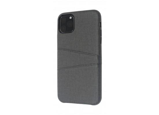 EQ iPhone 11 Pro Blank Pocket Back Case - Black
