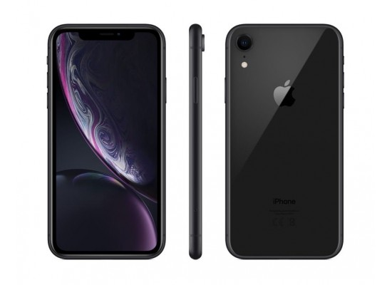Apple iPhone XR 128GB eSIM Dual SIM Phone - Black