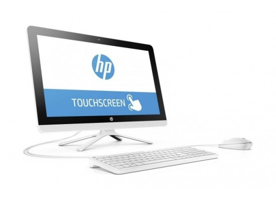 HP Pavilion Core i3 4GB RAM 1TB HDD 21.5 inch All-in-One Home Desktop (22-C0002NE) - White