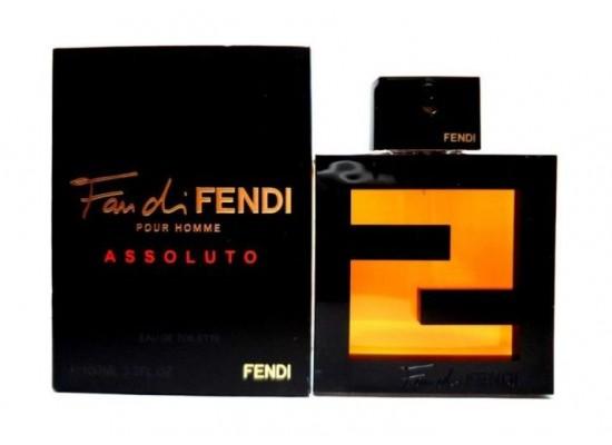 716e3b5d3646 Fan Di Fendi Pour Homme Assoluto by Fendi For Men 100 ML Eau de Toilette