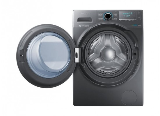 Samsung 8Kg Front Load Washing Machine - Grey (WW80J4260GS)