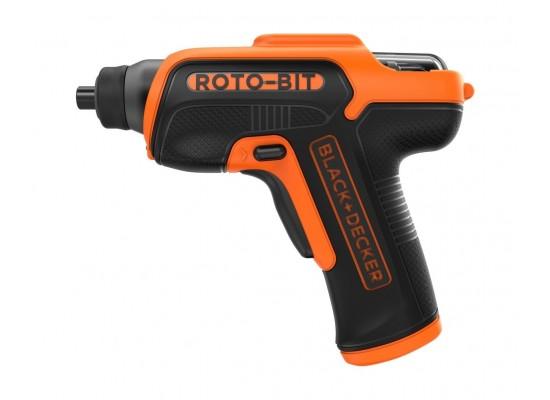 Black and Decker 3.6V Cordless Screwdriver (CS36BSCROTO) - Black/Orange