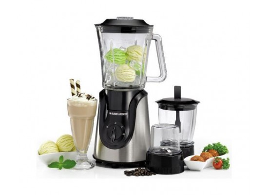 Black + Decker  Blender - 600W 1.5L (BX600G-B5)