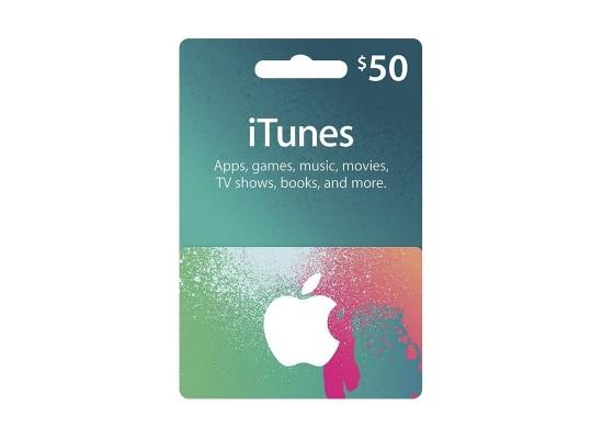 Apple iTunes Gift Card $50 (U.S. Account)