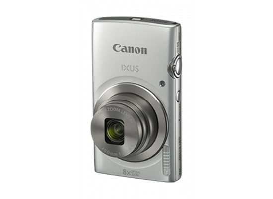 Canon IXUS 185 Digital Camera, 20MP 2.7-inch LCD Display – Silver