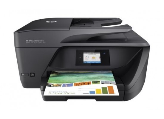 HP OfficeJet Pro 6960 All-in-One Printer (J7K33A) – Black