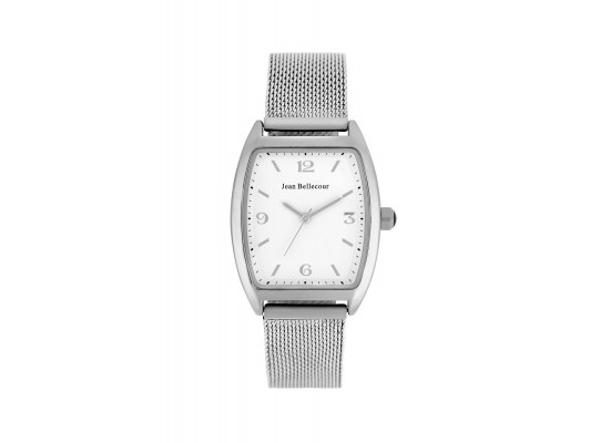 Jean Bellecour 32mm Analog Metal Watch (JB1083) - Silver