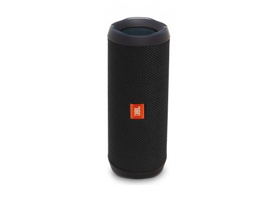 JBL Flip 4 Waterproof Bluetooth Portable Speakers (JBLFLIP4BLK) - Black