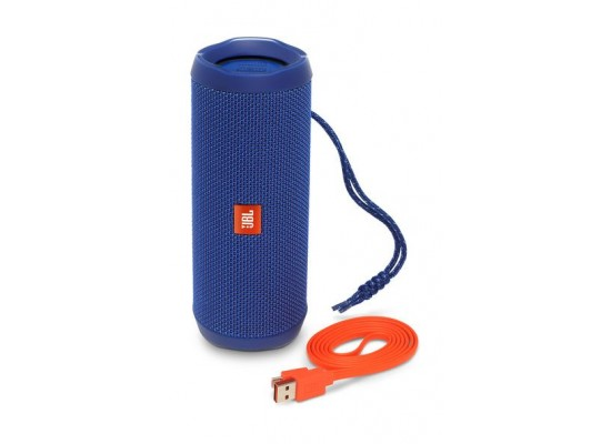 JBL Flip 4 Waterproof BT Speakers (JBLFLIP4BLU) - Blue 4th view