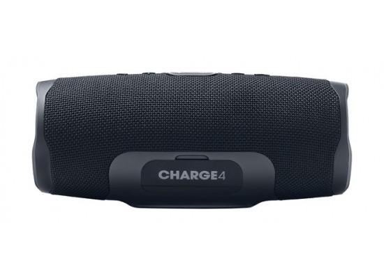 JBL Charge 4 Waterproof Portable Bluetooth Speaker - Black