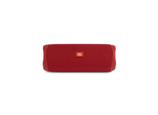 JBL Flip 5 Waterproof Bluetooth Portable Speakers - Red