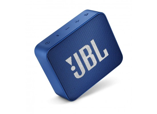 JBL GO 2 Portable Bluetooth Speaker - Blue