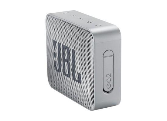 JBL GO 2 Portable Bluetooth Speaker - Grey 2
