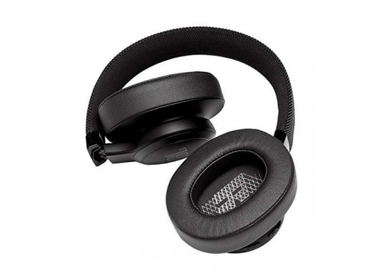 JBL Live 500BT Wireless Over-Ear Headphones - Black 4