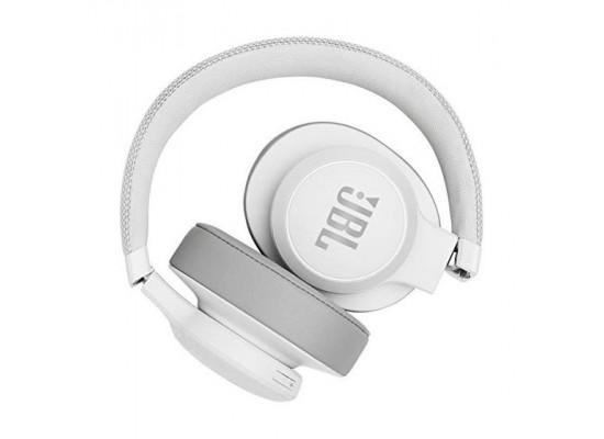 JBL Live 500BT Wireless Over-Ear Headphones - White 2