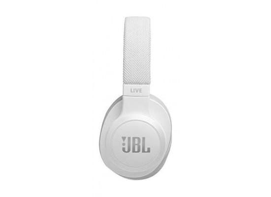 JBL Live 500BT Wireless Over-Ear Headphones - White 3