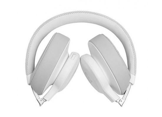 JBL Live 500BT Wireless Over-Ear Headphones - White 4