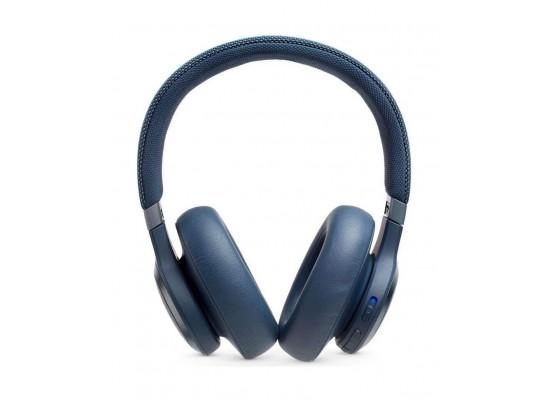 JBL LIVE 650BTNC Wireless Over-Ear Noise-Cancelling Headphone - Blue