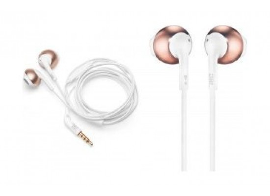 2514c93ec85 Buy JBL T205 Wired Earphone With Microphone - Rose Gold online ...