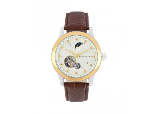 Jean Bellecour Automatic Analog Gents Leather Watch (JBP1901)
